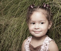 Cute little girl portrait Stock Photography