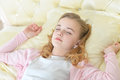 Cute little girl sleeping Royalty Free Stock Photo