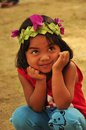 Cute little girl smiling Royalty Free Stock Photo