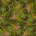 Cute little hedgehog seamless pattern texture background for fabric Royalty Free Stock Images