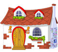 Cute Little House Royalty Free Stock Photo