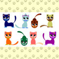 Cute little kittens Royalty Free Stock Image
