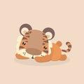 Cute little tiger.