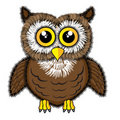Cute looking owl Royalty Free Stock Photography