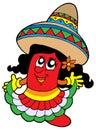 Cute Mexican chilli girl