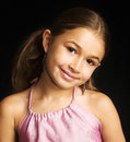 Cute mixed race girl Royalty Free Stock Photo