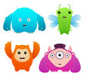 Cute Monsters Stock Photos