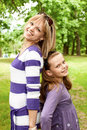 Cute mother and daughter Stock Photography