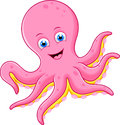 Cute octopus cartoon Royalty Free Stock Photo
