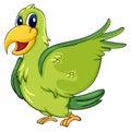 Roztomilý papagáj