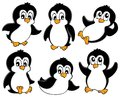 Cute penguins collection