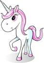 Cute Pretty Unicorn Vector