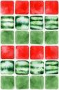 Fresh summertime watermelon seamless pattern.