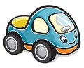 Cute race car vector illustration of the Stock Images