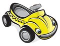 Cute race car vector illustration of the Stock Image