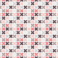 Cute retro abstract floral seamless pattern Royalty Free Stock Photo