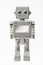 Cute happy robot