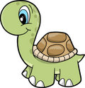 Cute Safari turtle Vector Illustration Royalty Free Stock Photo