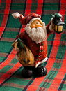 Cute Santa Toy Royalty Free Stock Image
