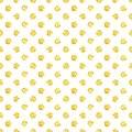 Hand drawn vector abstract freehand textured hollidays shiny golden glitter seamless pattern with polka dots  on