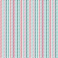 Cute seamless background geometric stripes red green white Royalty Free Stock Photo