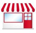 Cute shop icon