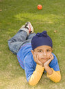 A cute sikh boy posing Royalty Free Stock Image