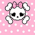 Cute Skull with bow