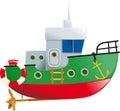 Cute small boat