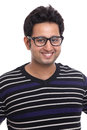 Cute smiling Indian young man portrait Royalty Free Stock Image