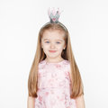 Cute smiling little blond girl in princess dress Royalty Free Stock Photo