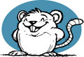 Cute Smiling Rat Royalty Free Stock Photo