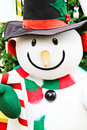 Cute snowman doll Royalty Free Stock Photo