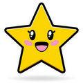 Cute Star EPS Stock Image