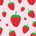 Cute strawberry pattern