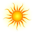Royalty Free Stock Photo Sun logo