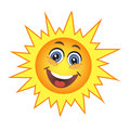 Cute sun Royalty Free Stock Photo