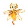 Cute toon fairy posing