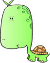 Cute Turtle Vector Royalty Free Stock Photo