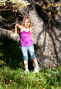 Cute Tween by Old Oak Stock Images