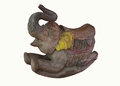 Cute vintage classic rocking elephant chair children.