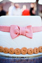 Cute Wedding Cake Royalty Free Stock Photo