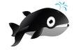 Cute whale cartoon Royalty Free Stock Photo