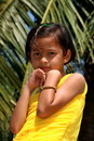 Cute young Indian girl Stock Photography
