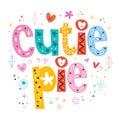Cutie pie Royalty Free Stock Photo