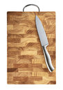 Cutting board solated whith clipping path Royalty Free Stock Image