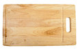 Cutting board wooden chopping isolated on a white Royalty Free Stock Photography