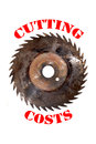 Cutting costs Royalty Free Stock Photo