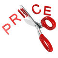 Cutting Price Stock Photos
