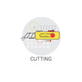 Cutting Tool Building Construction Engineering Toolbox Icon